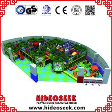 Château vilain d'enfants d'équipement de terrain de jeu de parc d'attractions d'intérieur