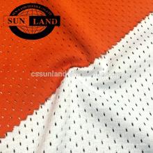 Usine de la Chine 100% polyester fil grand tissu en nid d'abeille