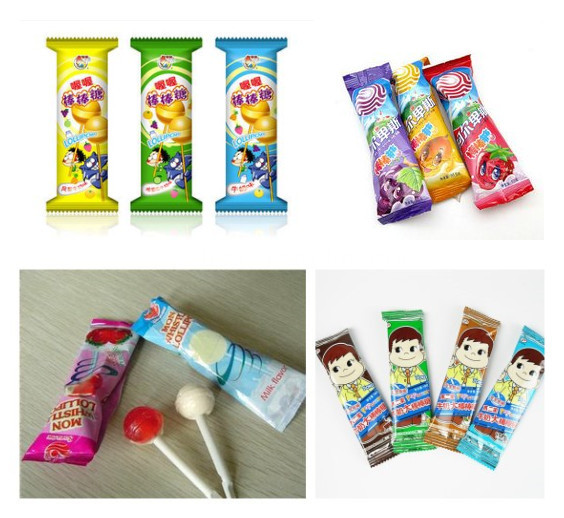 Hot selling high speed pillow ball lollipop pack machine