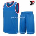 OEM sublimation print basketball jersey new model uniform