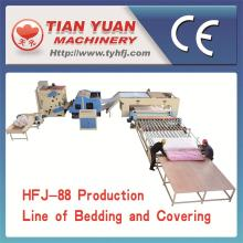 High Quality Bedding and Covering Production Line (HFJ-88)