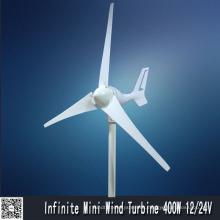 Turbina de viento horizontal (MINI 400W)