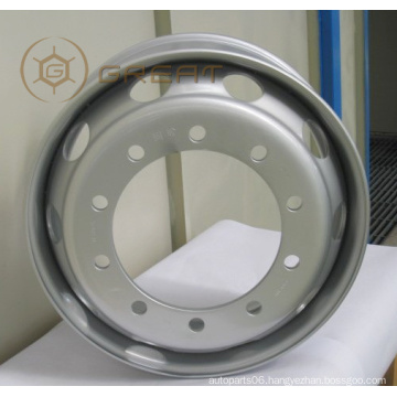 Truck tubeless wheel rims good quality with competitive price 19.5X8.25