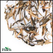 BT-004 estándar de la UE Hong mu dan o peonía roja a granel hojas sueltas té negro Yunnan al por mayor