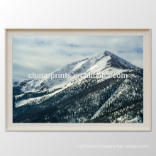 Natural Scenery Frame Canvas Print Snow Mountain Canvas Wall Art