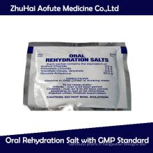 Sel de réhydratation orale avec norme GMP