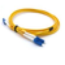Cordons de raccordement en fibre optique duplex monomode LC, LC ftth 9/125 lszh câble à fibre optique jumper