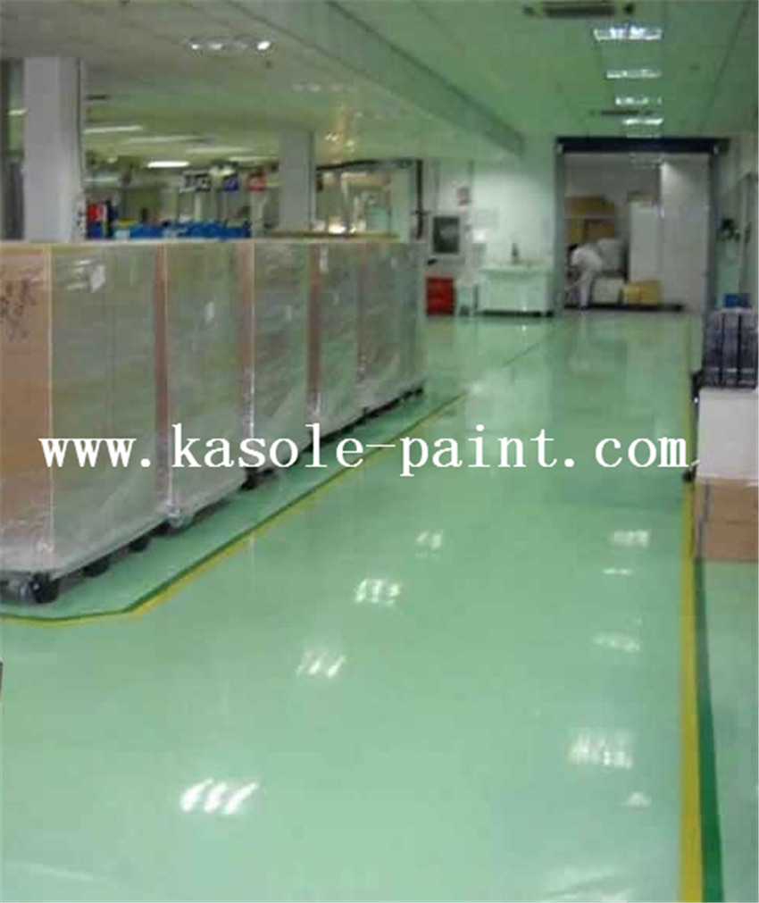Grass Green Anti-static Epoxy Topcoat