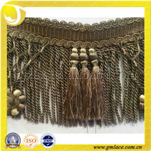 2014 New Fashion Bullion Curtain Tassel Fringe used for Cushions, Upholstery,Tapestry,Sofa and Accessory Decoration