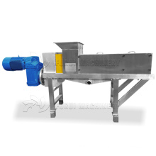 stainless steel brewery spent grains drying machine/brewer's spent grains dewatering machine/grain mash dehydrator