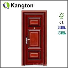 Porta de aço nova da porta da porta do projeto único Porta de aço da segurança da porta (porta de aço)