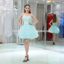 Customize Design rhinestone Women Clothes Sexy Summer Lace Dresses