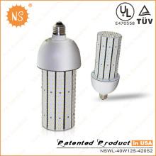 UL Dlc énumérés E39 40W ampoule de maïs LED COB