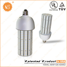 120W HID Retrofit LED 40W Corn Light Bulb with 5 Years Warranty