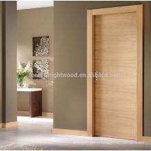 Projeto de portas de madeira nivelada interior do folheado com dobradiça invisível