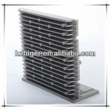 Dissipateur thermique mené de radiateur / en aluminium de moulage / dissipateur thermique de moulage mécanique sous pression