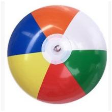 Custom Injection Flower Beach Ball, Eco-Friendly PVC Ball