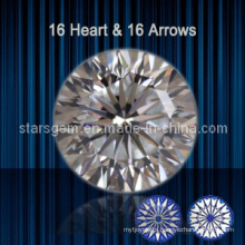 16 Hearts & 16 Arrows Brilliant Cut Cubic Zirconia
