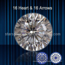16 Corações e 16 Arrows Brilhante Corte Cubic Zirconia