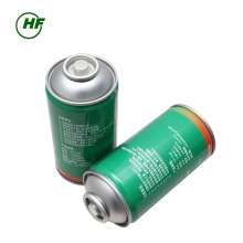 China car use 300g can packing HFC-R134a use for car Unrefillable Cylinder Excellent-class Port in Indonesia market