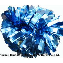 Черлидинг металлический Columbia синий пом пом