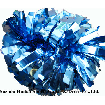 Cheerleading Metallic Columbia Blue POM POM