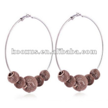 Mesh ball shamballa earring jewelry