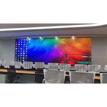 Pantalla LED a todo color para colgar en interiores P1.66
