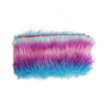 COOL COLOR PLUSH PENCIL CASE-0