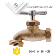 EM-V-B038 Check structure forget male thread brass bibcock