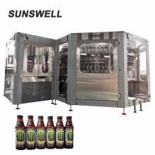 стеклянная бутылка пива пастеризатор с распылителем непрерывного действия