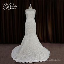 Einfache, aber elegante Braut Brautkleid