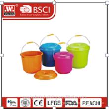 plastic bucket W/lid 3l/4.2l/5.2L