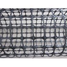 Geomalla de plástico de tracción biaxial