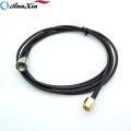 Varón modificado para requisitos particulares del conector SMA del RF al cable masculino de la coleta RG174 de FME