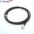 Connecteur SMA adapté aux besoins du client de mâle SMA au câble masculin de la tresse RG174 de FME