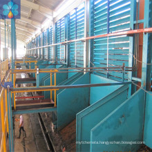 100TPH FFB palm oil fruit mill machine , palm oil processing equipment