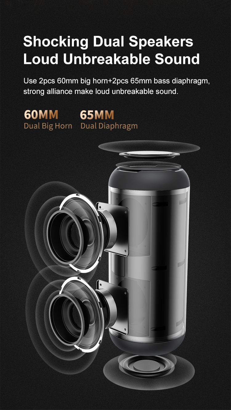 Bd18 Bluetooth Speaker 5