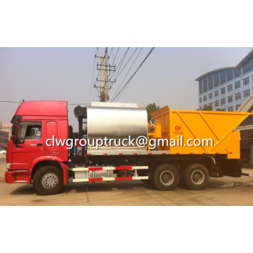 SINOTRUCK HOWO 6X4 6+10CBM Synchronous Chip Sealer