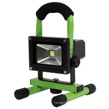 COB 10W recargable de luz portátil de trabajo LED (F10A)