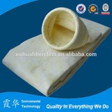 Bolsa de filtro de polvo de fibra resistente a altas temperaturas