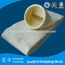 High temperature resisting fiber dust filter bag