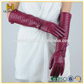 long plain gloves,ladies long leather gloves , winter gloves