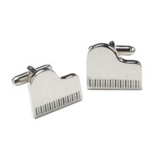 Stylish Musical Novelty Enamel Cuff Links