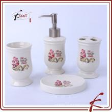 Acessórios para banho de cerâmica para bebé