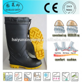 Anti-Static Men's PVC Safety Gumboots With Steel Toe Cap and Steel Plate