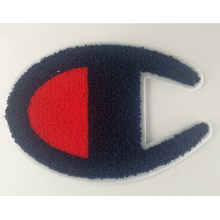 USA Champion Embroidery Chenille Logo Patch na bluzę z kapturem