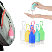 Supports de désinfectant pour les mains en silicone sans BPA