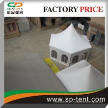 Garantie à 100% alliage de haute qualité tente de mariage ronde utilisée en forme de pagode à vendre