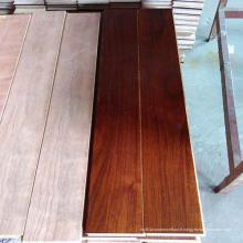 Plancher de bois d'ingénierie multicouche de noyer noir classique